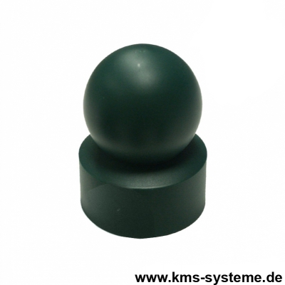 Kugelkappe Ø 60 mm grün oder schwarz