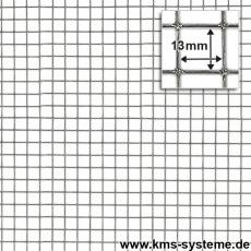 Punktgeschw. Gitter verzinkt 13x13x0,8mm 5m Rollen