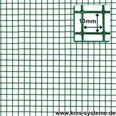 Punktgeschw. Gitter grün 13x13x1,1mm 5m Rollen