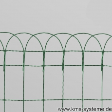 Ziergitter / Gartenbordüre 400 mm x 10 m