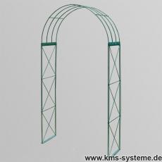 Rosenbogen 3-tlg. Kreuz grün ca. 2300x1200x400 mm