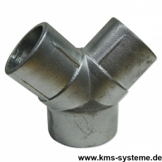 Y-Pfostenausleger Aluminium 60/60/60 mm