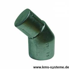 Pfostenabwinkelung Aluminium + grün 42/42 mm