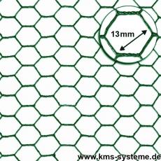 Sechseckgeflecht grün 13x1,0mm 25m Rollen