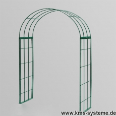Rosenbogen 3-tlg. Kreuz grün ca. 2400x1500x400 mm