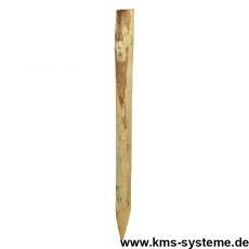 Rundpfahl aus Kastanienholz 7/9 cm Durchmesser