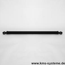 Spannbrücken verzinkt + schwarz Ø42mm mit Schellen 42mm