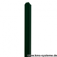 T-Zaunpfosten thermoverzinkt + grün 40mm Breite
