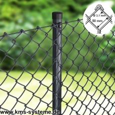 Maschendraht Rolle anthrazit 50X50X3,1mm