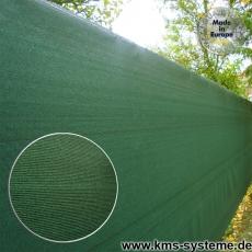 Sichtschutznetz 370 gr/m² grün 25m Rollen
