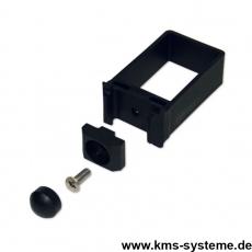 EASY-B-EASY Universalschelle für Rechteckpfosten 60 x 40 / 6 mm