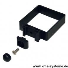 EASY-B-EASY Universalschelle für Quadratpfosten 80 x 80 / 4 mm