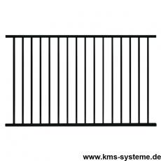 Zaunfeld BARO feuerverzinkt oder fvz. + pulverbeschichtet 2000 mm Breite