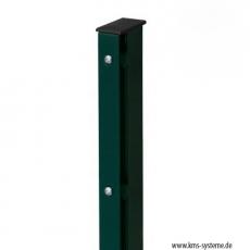 Rechteckpfosten EASY-B-EASY 60 x 40 mm mit Abdeckschiene