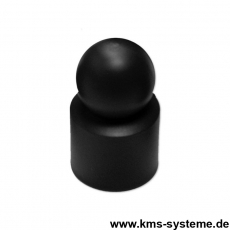 Kugelkappe Ø 34 mm grün oder schwarz