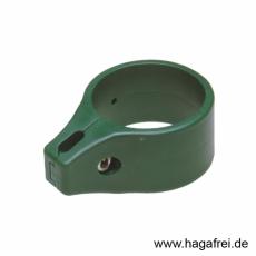 Einfachschelle Ø 60 mm grün oder schwarz