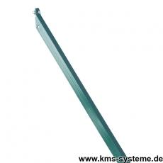 L-Strebe thermoverzinkt + grün Breite 25mm